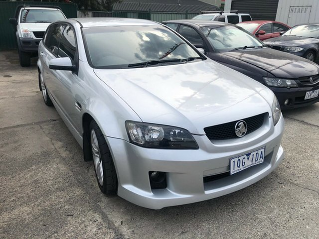 Used Holden Commodore VE MY09 SV6, 2008 Holden Commodore VE MY09 SV6 Silver 5 Speed Automatic Sportswagon