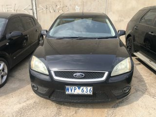 2008 Ford Focus LT 08 Upgrade TDCi Black 6 Speed Manual Hatchback.
