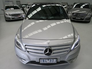 2012 Mercedes-Benz B-Class W246 B180 BlueEFFICIENCY DCT Silver Essence 7 Speed