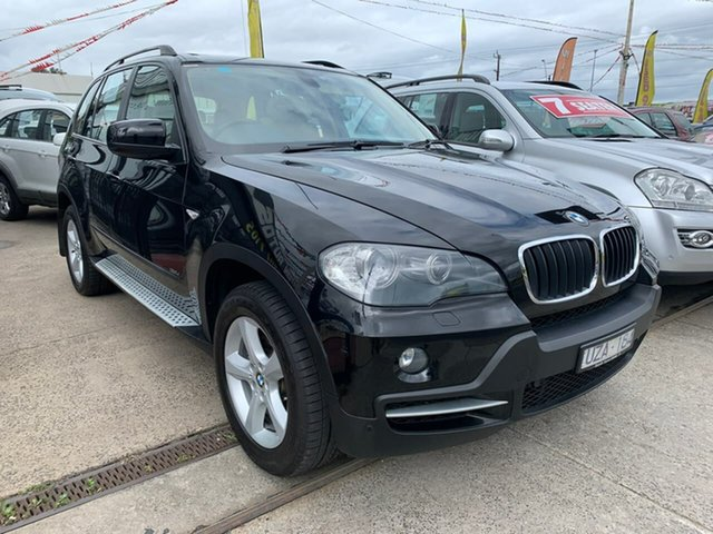 Used BMW X5 E70 d Steptronic Executive, 2007 BMW X5 E70 d Steptronic Executive Black 6 Speed Sports Automatic Wagon