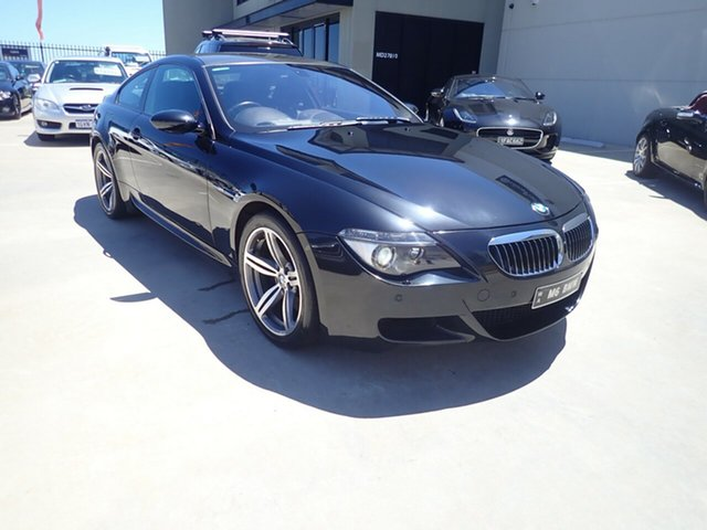 Used BMW M6 E63 MY08 , 2007 BMW M6 E63 MY08 Black Magic 7 Speed Seq Manual Auto-Clutch Coupe
