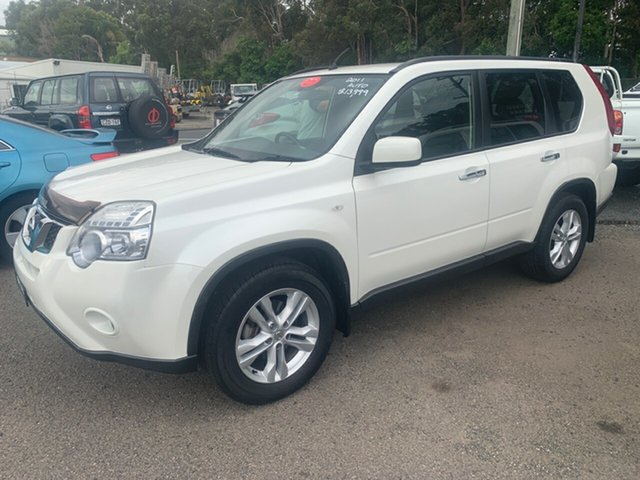 Used Nissan X-Trail  ST-L, 2011 Nissan X-Trail T31 4X4 ST-L White 6 Speed Sequential Auto Wagon