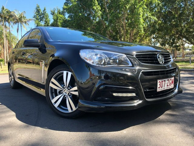 Used Holden Commodore VF II MY16 SV6, 2015 Holden Commodore VF II MY16 SV6 Black 6 Speed Sports Automatic Sedan
