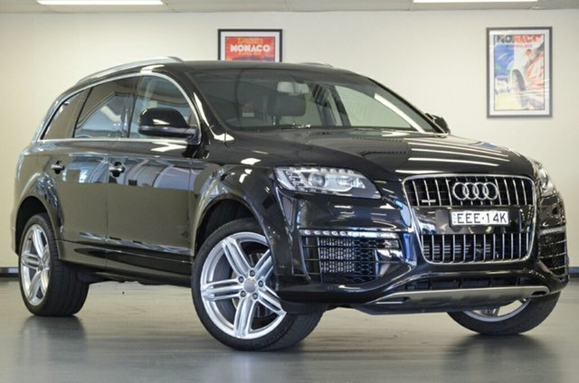Used Audi Q7 4L MY15 TDI Tiptronic Quattro, 2015 Audi Q7 4L MY15 TDI Tiptronic Quattro Black 8 Speed Sports Automatic Wagon