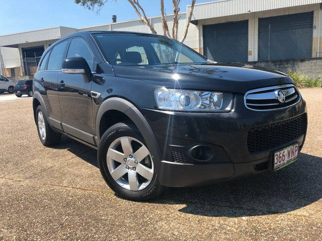 Used Holden Captiva CG Series II 7 SX, 2012 Holden Captiva CG Series II 7 SX Black 6 Speed Sports Automatic Wagon