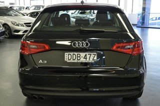2015 Audi A3 8V MY15 Attraction Sportback S Tronic Black 7 Speed Sports Automatic Dual Clutch