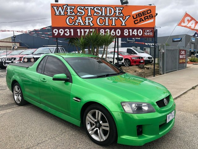 Used Holden Commodore VE MY09.5 SV6, 2008 Holden Commodore VE MY09.5 SV6 Green 5 Speed Automatic Utility