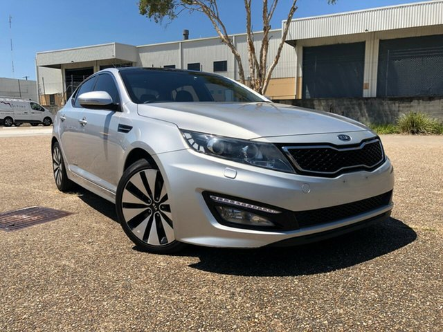 Used Kia Optima TF Platinum, 2011 Kia Optima TF Platinum Silver 6 Speed Automatic Sedan
