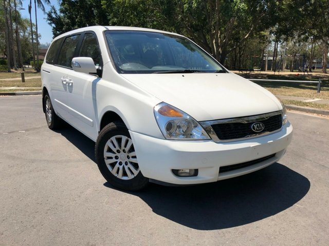 Used Kia Grand Carnival VQ MY14 S, 2013 Kia Grand Carnival VQ MY14 S White 6 Speed Automatic Wagon
