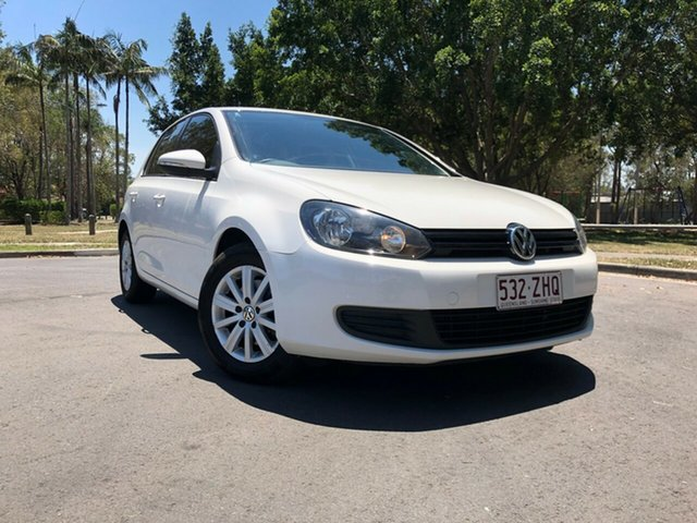Used Volkswagen Golf 1K MY12 90 TSI Trendline, 2012 Volkswagen Golf 1K MY12 90 TSI Trendline White 7 Speed Auto Direct Shift Hatchback