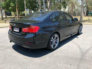 2012 BMW 320i F30 320i Black 8 Speed Sports Automatic Sedan.