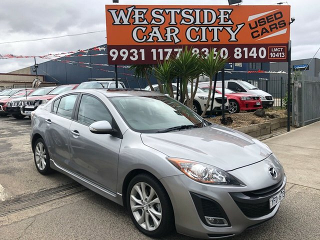Used Mazda 3 BL 10 Upgrade SP25, 2010 Mazda 3 BL 10 Upgrade SP25 Silver 5 Speed Automatic Sedan