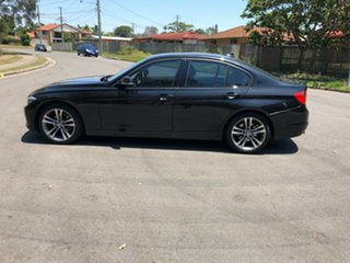 2012 BMW 320i F30 320i Black 8 Speed Sports Automatic Sedan