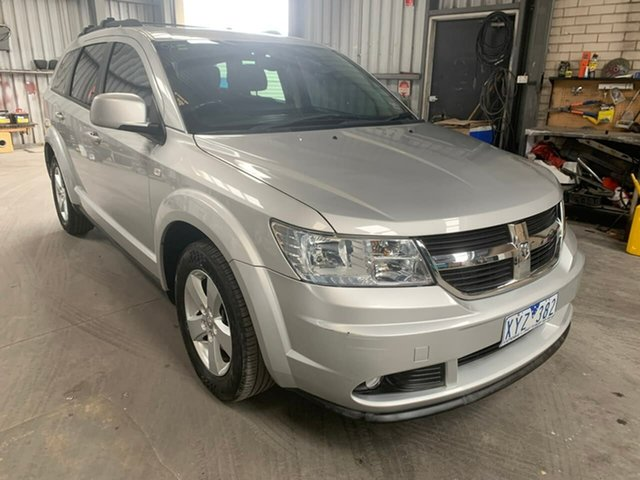 Used Dodge Journey JC MY10 SXT, 2010 Dodge Journey JC MY10 SXT Silver 6 Speed Automatic Wagon