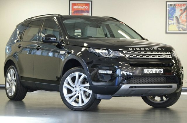 Used Land Rover Discovery Sport L550 16.5MY SD4 HSE, 2016 Land Rover Discovery Sport L550 16.5MY SD4 HSE Black 9 Speed Sports Automatic Wagon