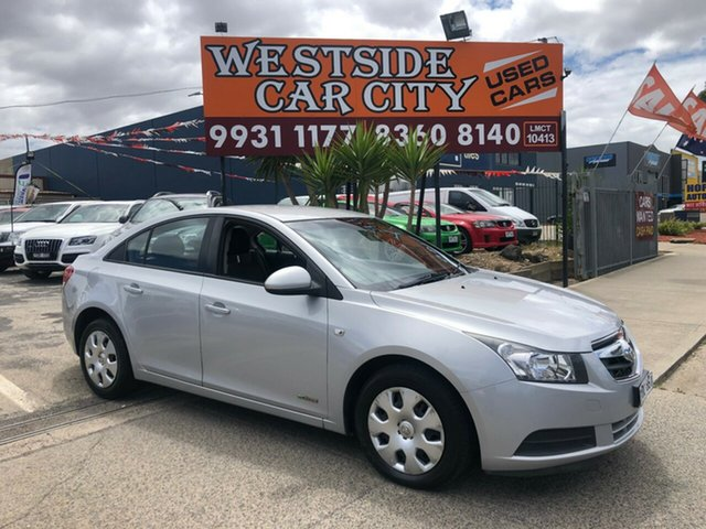 Used Holden Cruze JG CD, 2009 Holden Cruze JG CD Silver 6 Speed Automatic Sedan