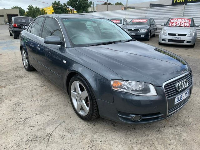 Used Audi A4 B7 Multitronic, 2006 Audi A4 B7 Multitronic Grey 7 Speed Constant Variable Sedan