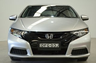 2014 Honda Civic 9th Gen Ser II MY13 VTi Silver 5 Speed Sports Automatic Sedan