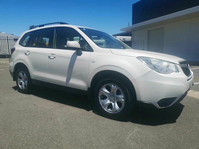 Used Subaru Forester MY13 2.5I, 2013 Subaru Forester MY13 2.5I White Continuous Variable Wagon