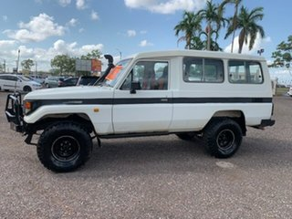 1995 Toyota Landcruiser TROOPY White 5 Speed Manual TroopCarrier
