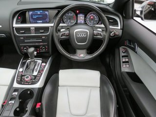 2010 Audi S5 8T MY10 S Tronic Quattro Black Crystal 7 Speed Sports Automatic Dual Clutch Cabriolet