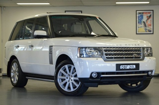 Used Land Rover Range Rover Vogue L322 10MY Autobiography, 2010 Land Rover Range Rover Vogue L322 10MY Autobiography White 6 Speed Sports Automatic Wagon