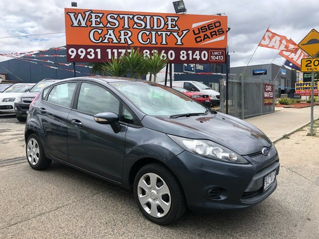 Used Ford Fiesta WT CL, 2012 Ford Fiesta WT CL Grey 6 Speed Automatic Hatchback