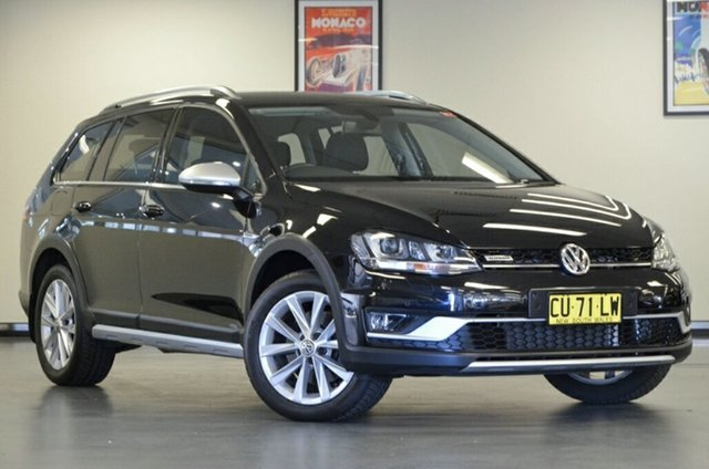 Used Volkswagen Golf VII MY16 Alltrack DSG 4MOTION 132TSI, 2015 Volkswagen Golf VII MY16 Alltrack DSG 4MOTION 132TSI Black 6 Speed Sports Automatic Dual Clutch