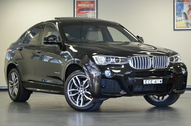 Used BMW X4 F26 xDrive30d Coupe Steptronic, 2015 BMW X4 F26 xDrive30d Coupe Steptronic Black 8 Speed Automatic Wagon