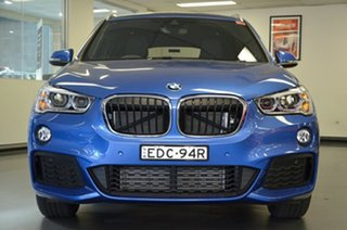 2017 BMW X1 F48 sDrive18d Steptronic Estoril Blue 8 Speed Sports Automatic Wagon