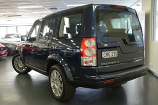 2012 Land Rover Discovery 4 Series 4 MY12 HSE CommandShift Luxury Blue 6 Speed Sports Automatic.