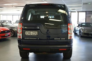 2012 Land Rover Discovery 4 Series 4 MY12 HSE CommandShift Luxury Blue 6 Speed Sports Automatic