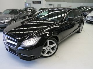 2013 Mercedes-Benz CLS-Class C218 MY13.5 CLS250 CDI Coupe 7G-Tronic + Obsidian Black 7 Speed.