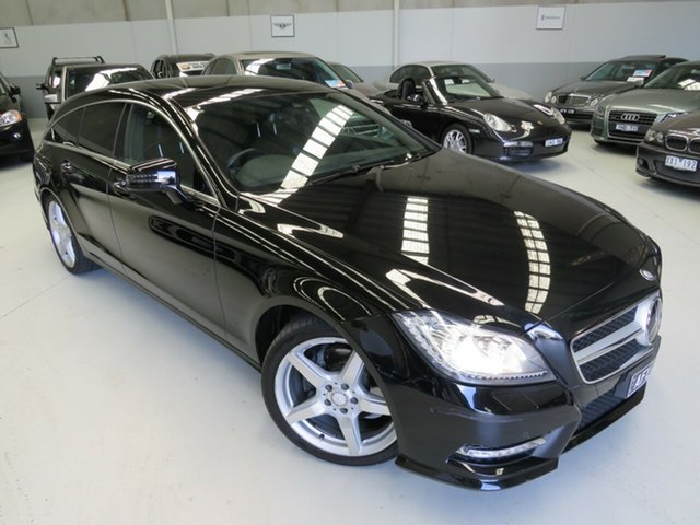 Used Mercedes-Benz CLS-Class C218 MY13.5 CLS250 CDI Coupe 7G-Tronic + Seaford, 2013 Mercedes-Benz CLS-Class C218 MY13.5 CLS250 CDI Coupe 7G-Tronic + Obsidian Black 7 Speed