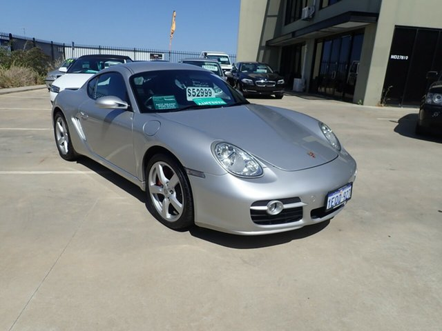 Used Porsche Cayman 987 MY07 S, 2006 Porsche Cayman 987 MY07 S Silver 5 Speed Sports Automatic Coupe