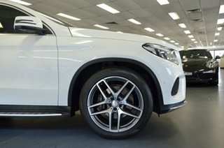 2015 Mercedes-Benz GLE-Class C292 GLE350 d Coupe 9G-Tronic 4MATIC White 9 Speed Sports Automatic