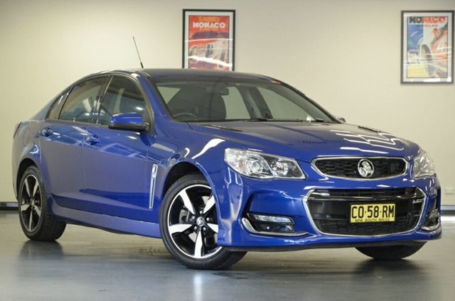 Used Holden Commodore VF II MY17 SS, 2017 Holden Commodore VF II MY17 SS Blue 6 Speed Sports Automatic Sedan