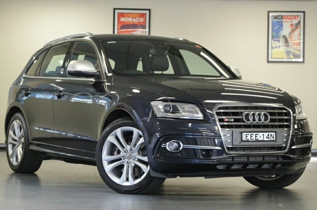 Used Audi SQ5 8R MY14 TDI Tiptronic Quattro, 2014 Audi SQ5 8R MY14 TDI Tiptronic Quattro Blue 8 Speed Sports Automatic Wagon
