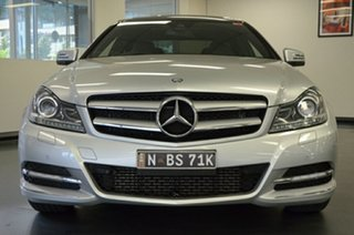 2012 Mercedes-Benz C-Class C204 C250 BlueEFFICIENCY 7G-Tronic + Silver 7 Speed Sports Automatic