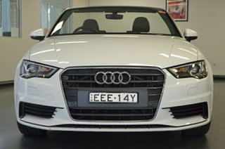 2016 Audi A3 8V MY16 Attraction S Tronic White 7 Speed Sports Automatic Dual Clutch Cabriolet