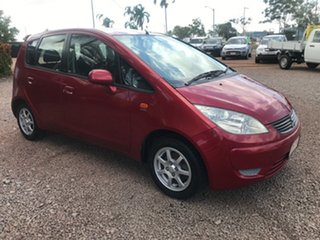 2008 Mitsubishi Colt RG MY08 ES Red 5 Speed Manual Hatchback