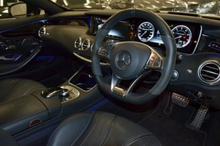 2017 Mercedes-Benz S-Class C217 807MY S63 AMG SPEEDSHIFT MCT White 7 Speed Sports Automatic Coupe