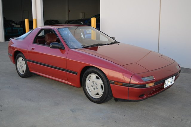 Used Mazda RX7 Series 4 , 1985 Mazda RX7 Series 4 Maroon 5 Speed Manual Coupe