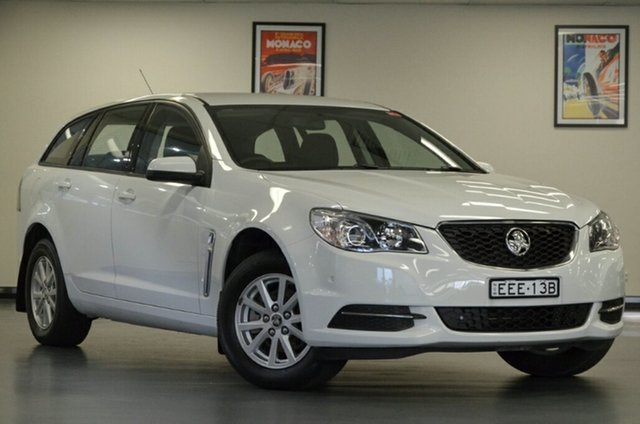 Used Holden Commodore VF MY15 Evoke Sportwagon, 2015 Holden Commodore VF MY15 Evoke Sportwagon White 6 Speed Sports Automatic Wagon