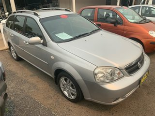 2006 Holden Viva Silver Automatic Wagon.