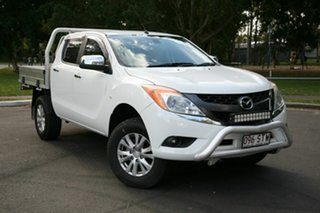2012 Mazda BT-50 UP0YF1 GT White 6 Speed Sports Automatic Utility.
