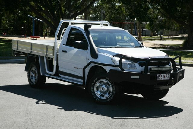 Used Holden Colorado RG MY16 LS, 2016 Holden Colorado RG MY16 LS White 6 Speed Manual Cab Chassis