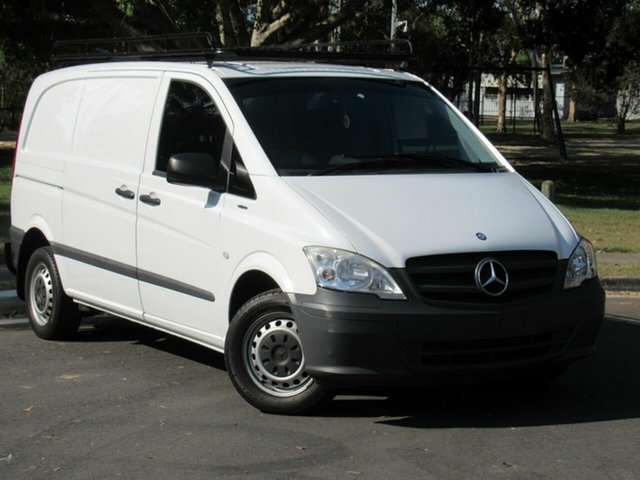 Used Mercedes-Benz Vito 639 MY11 113CDI SWB, 2013 Mercedes-Benz Vito 639 MY11 113CDI SWB White 6 Speed Manual Van