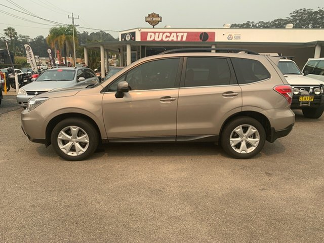 Used Subaru Forester MY15 Diesel, 2015 Subaru Forester MY15 Diesel Gold Continuous Variable Wagon