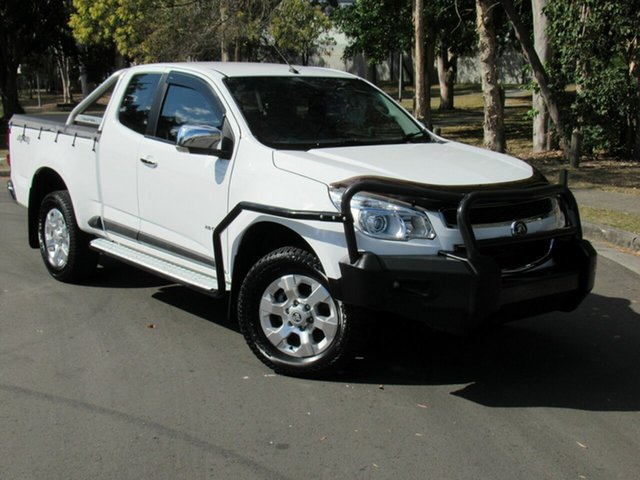 Used Holden Colorado RG MY13 LTZ Space Cab, 2013 Holden Colorado RG MY13 LTZ Space Cab White 6 Speed Sports Automatic Utility